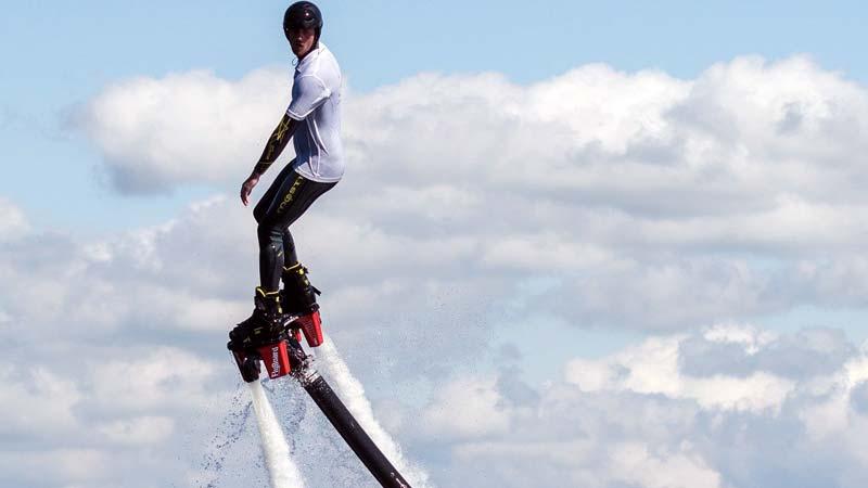 flyboarden drenthe, flyboard huren, vrijgezellenfeest